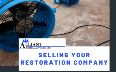 3 Considerations When Selling Your Restoration Service Company
