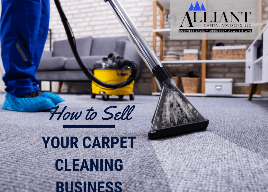 How To Sell Your Carpet Cleaning Business