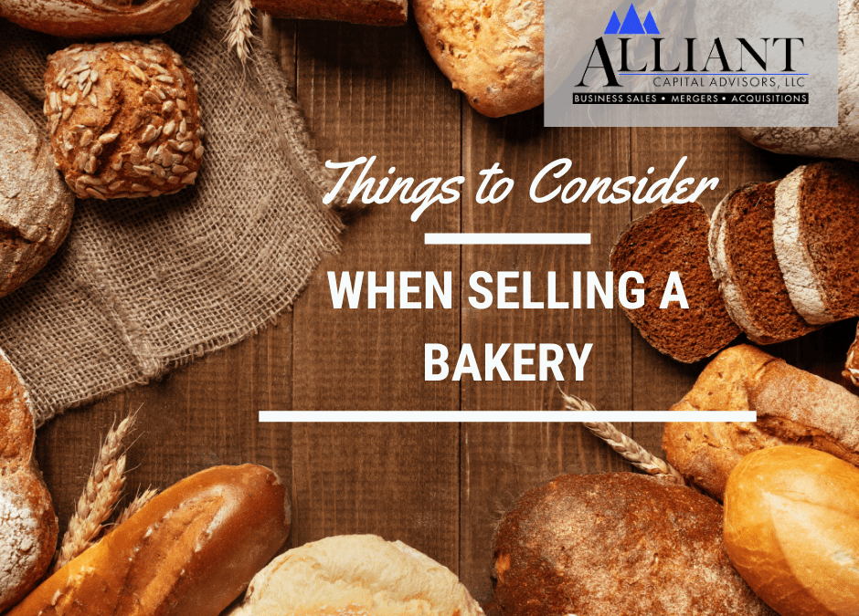 Things to Consider When selling a Bakery